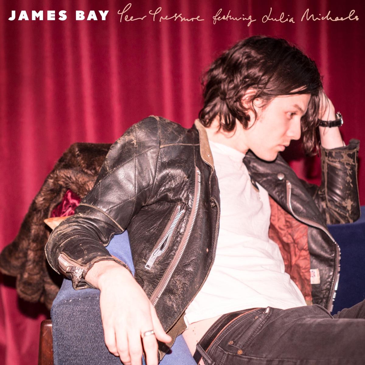 Peer Pressure feat Julia Michaels - Single James Bay CD cover