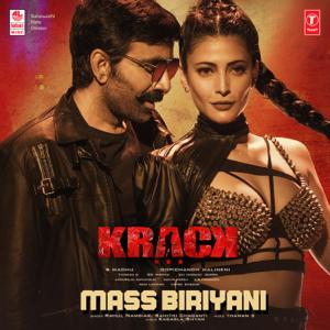"""Rahul Nambiar, Sahithi Chaganti & Thaman S. - Mass Biriyani (From """"Krack"""")"""