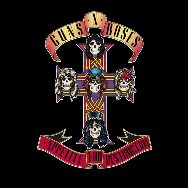 Guns N' Roses mit Welcome to the Jungle
