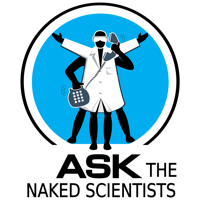 Podcast cover art for Ask the Naked Scientists Podcast