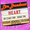 Live Broadcast - 12th May 1989 Veterans Memorial Coliseum ジャケット写真