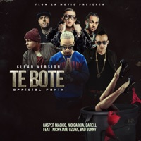 Te Boté (Clean Version) [feat. Darell, Nicky Jam & Ozuna] - Single Mp3 Download