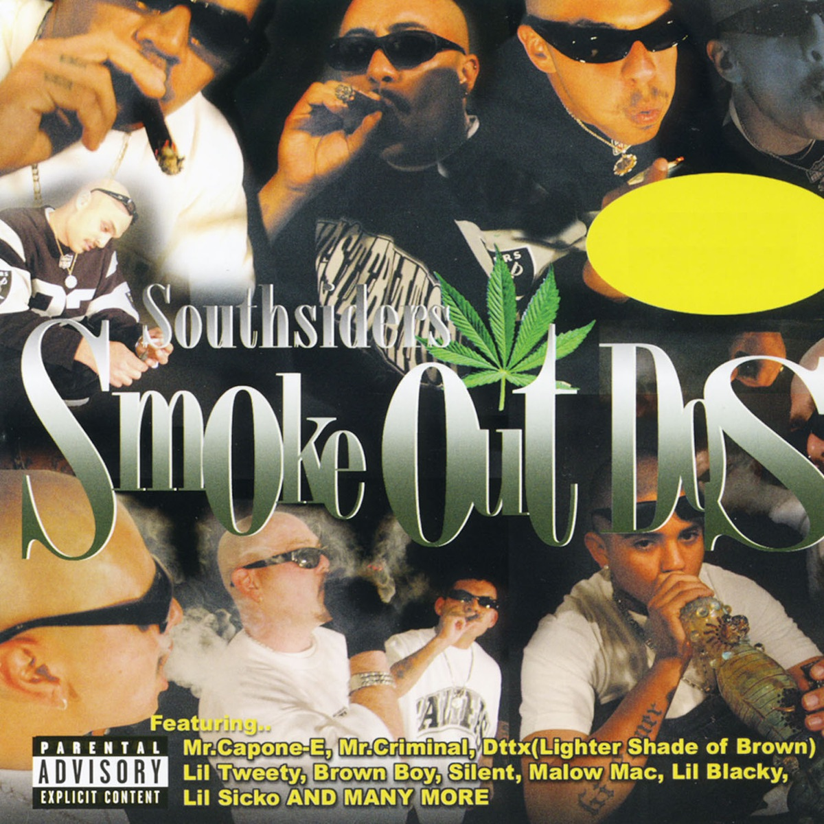 South Siders Smoke Out Dos Various Artists CD cover