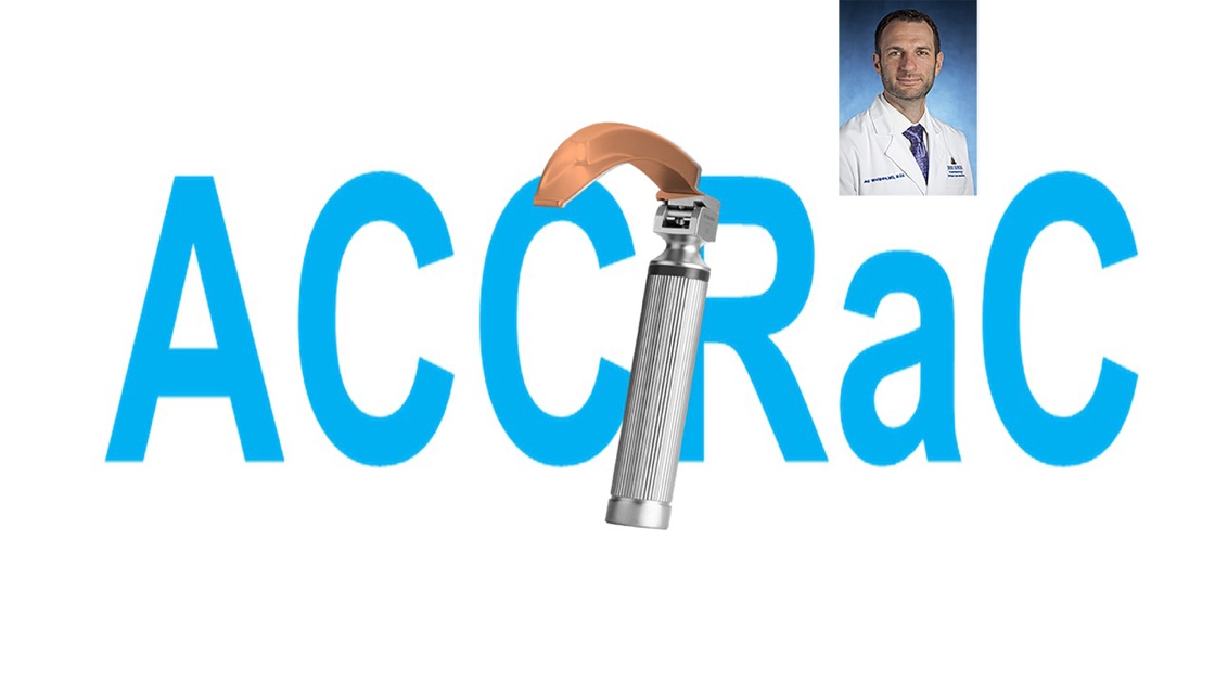 Anesthesia and Critical Care Reviews and Commentary (ACCRAC) Podcast ...