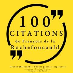 100 citations de François de La Rochefoucauld