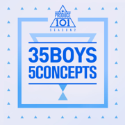 Produce 101 - 35 Boys 5 Concepts - EP - Various Artists - Various Artists
