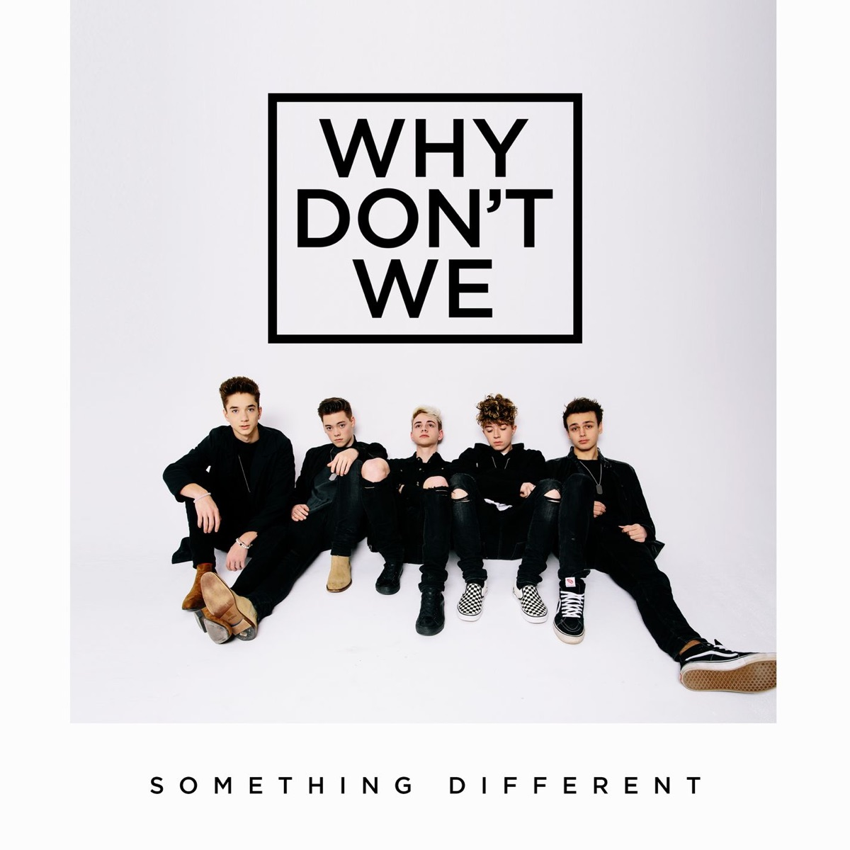 Something Different - EP Why Dont We CD cover
