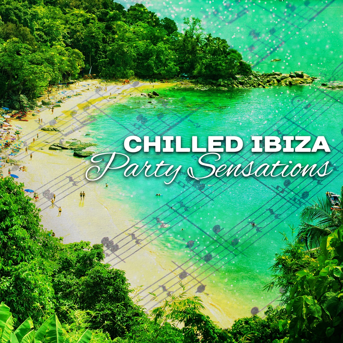 Chilled Ibiza Party Sensations: Relaxing Night on the Beach