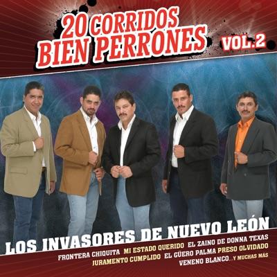 20 Corridos Bien Perrones, Vol. 2 - Los Invasores de Nuevo León