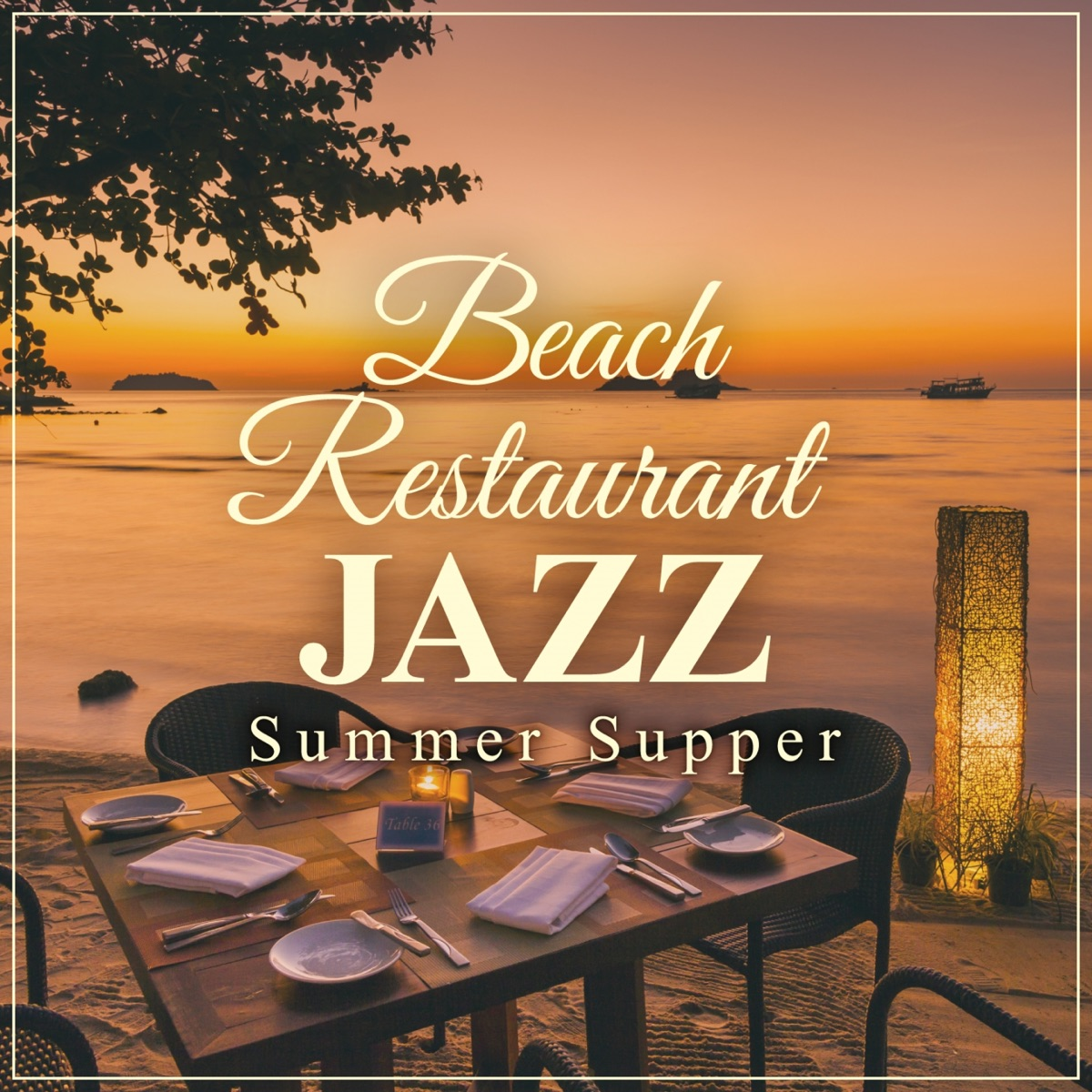 Beach Restaurant Jazz - Summer Supper Relaxing Piano Crew CD cover