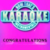 Now That's Karaoke Instrumentals - Congratulations (Originally Performed by Post Malone) [Instrumental Karaoke Version]