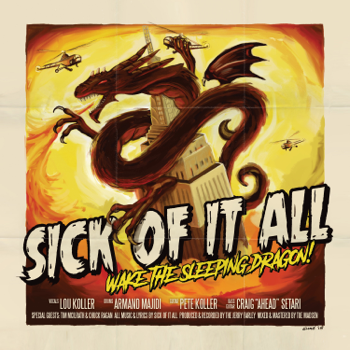 Sick Of It All Wake the Sleeping Dragon! music review