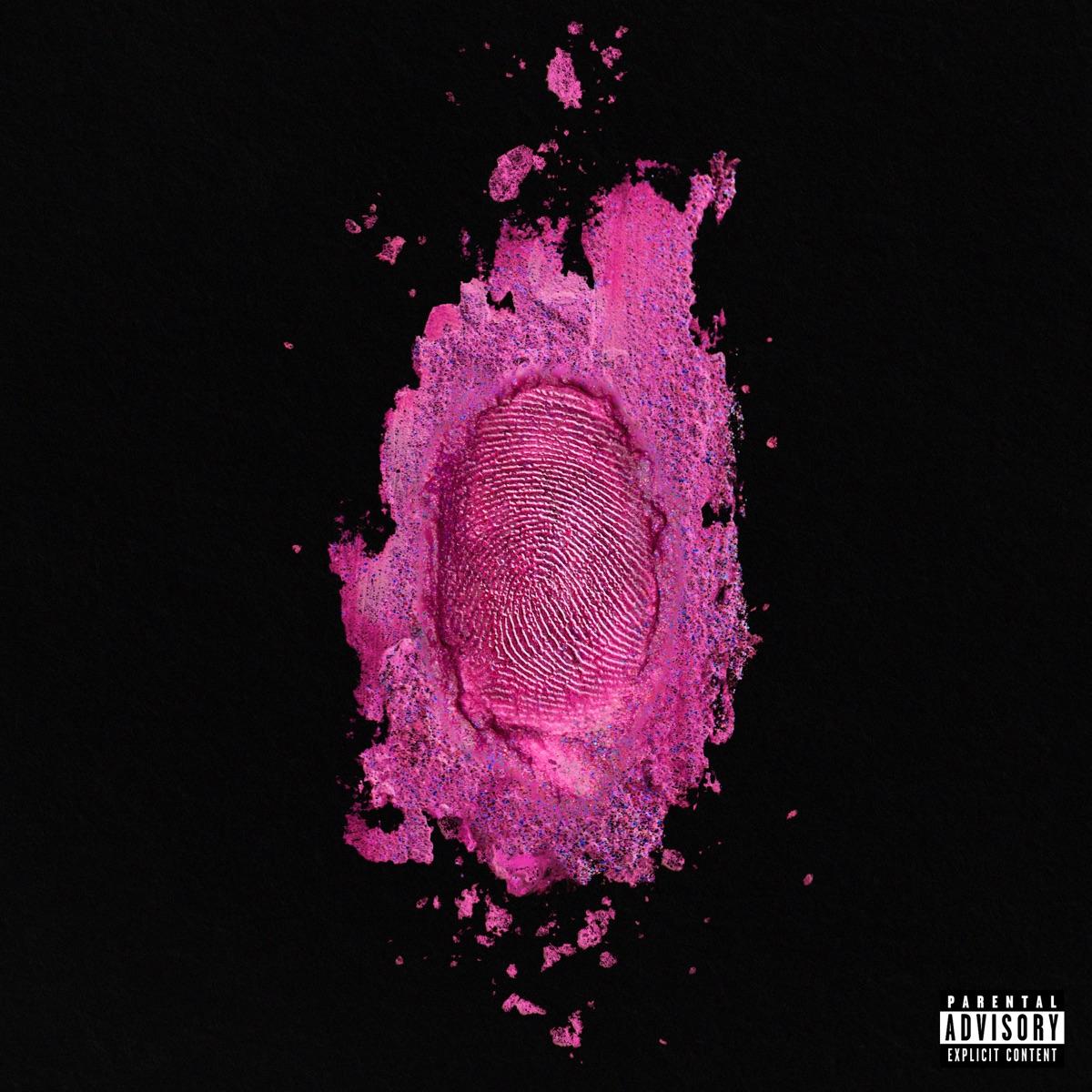 The Pinkprint Nicki Minaj CD cover