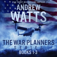 The War Planners Series, Books 1-3: The War Planners, The War Stage, and Pawns of the Pacific  (Unabridged)