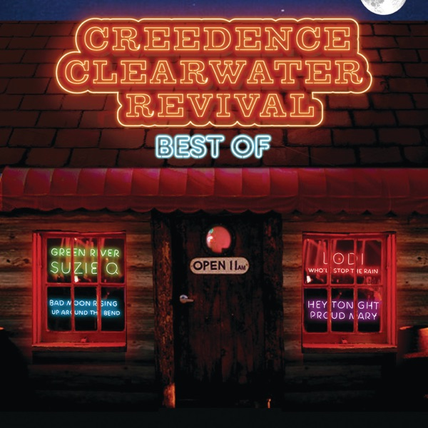 Creedence Clearwater Revival mit Fortunate Son