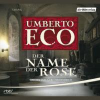 Umberto Eco - Der Name der Rose artwork