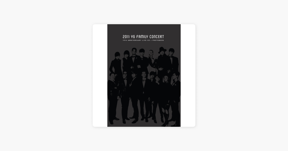 15th Anniversary 2011 YG Family Concert by YG Family