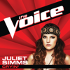 Juliet Simms - Cryin' (The Voice Performance) artwork