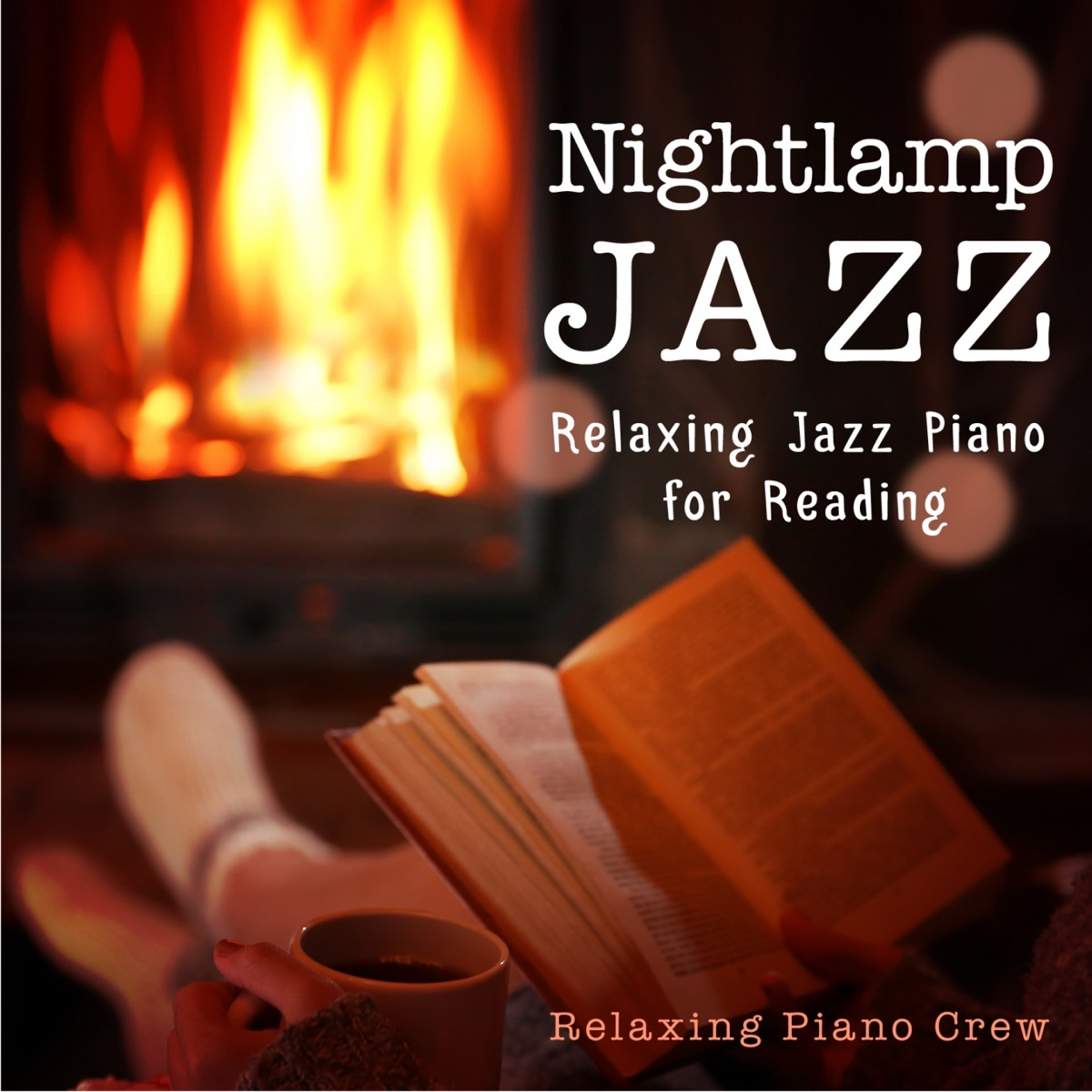 Nightlamp Jazz - Relaxing Jazz Piano for Reading Relaxing Piano Crew CD cover