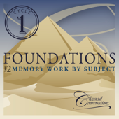 Foundations Cycle 1, Vol. 2 - Memory Work by Subject