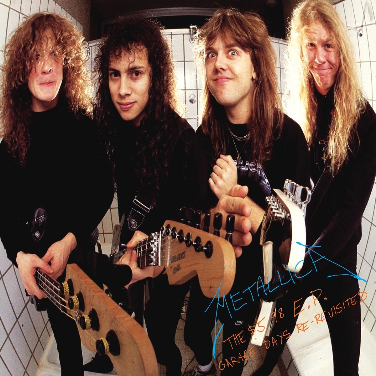 The 5 98 E P Garage Days Re Revisited Album Cover By Metallica