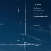 Kim Kashkashian - J.S. Bach: Cello Suite No. 5 in C Minor, BWV 1011 - Transcr. for Viola - 5. Gavotte I-II