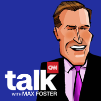 Podcast cover art for CNN Talk with Max Foster