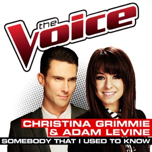 Christina Grimmie & Adam Levine - Somebody That I Used To Know