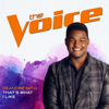 That's What I Like (The Voice Performance) - DeAndre Nico