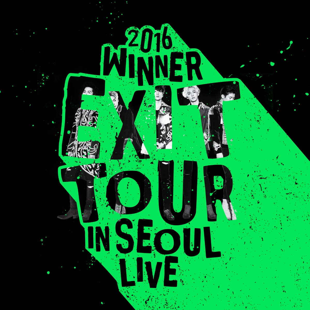 2016 WINNER EXIT TOUR IN SEOUL LIVE WINNER CD cover