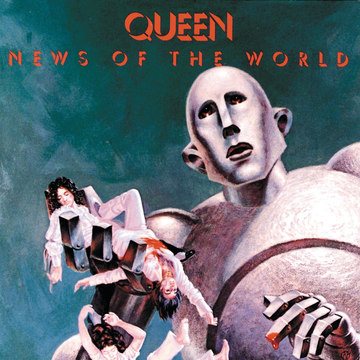 News of the World Queen CD cover
