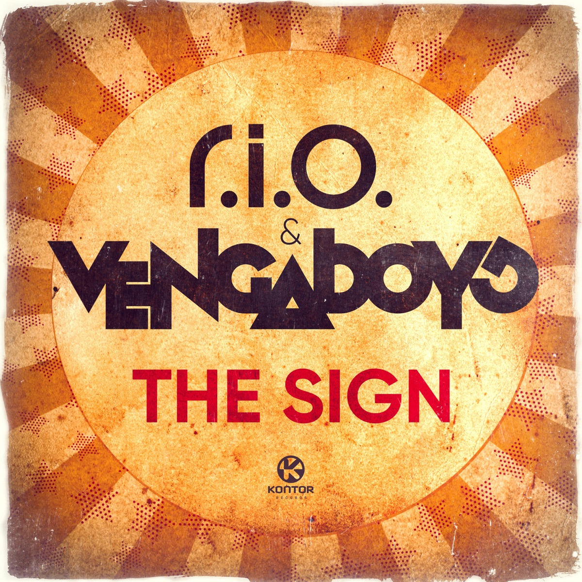 The Sign - Single Album Cover by R I O  & Vengaboys