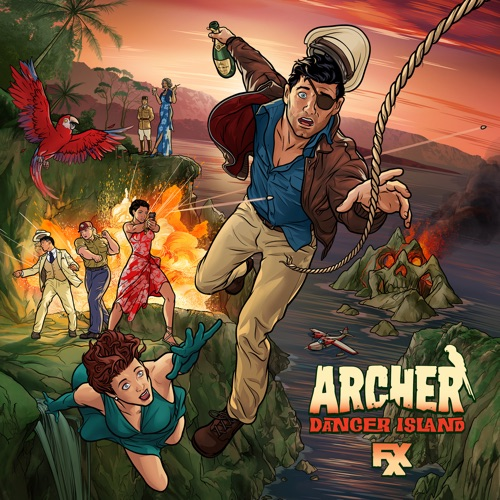 Archer: Danger Island, Season 9 poster