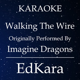 Walking The Wire Originally Performed By Imagine Dragons Karaoke No Guide Melody Version