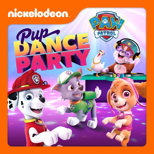 PAW Patrol, Pup Dance Party poster