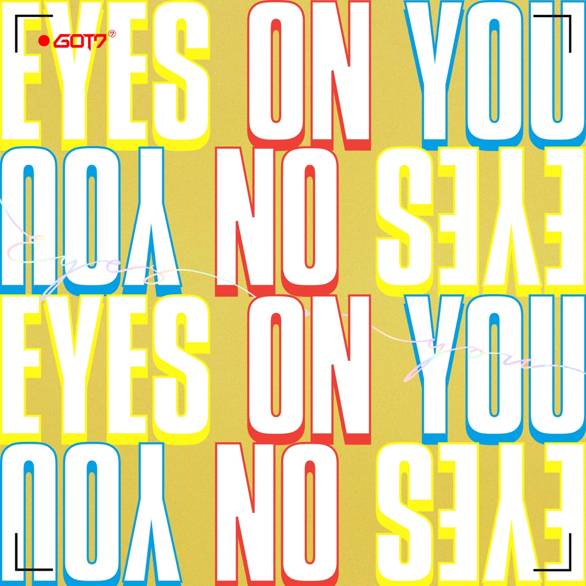 Eyes On You - EP GOT7 CD cover
