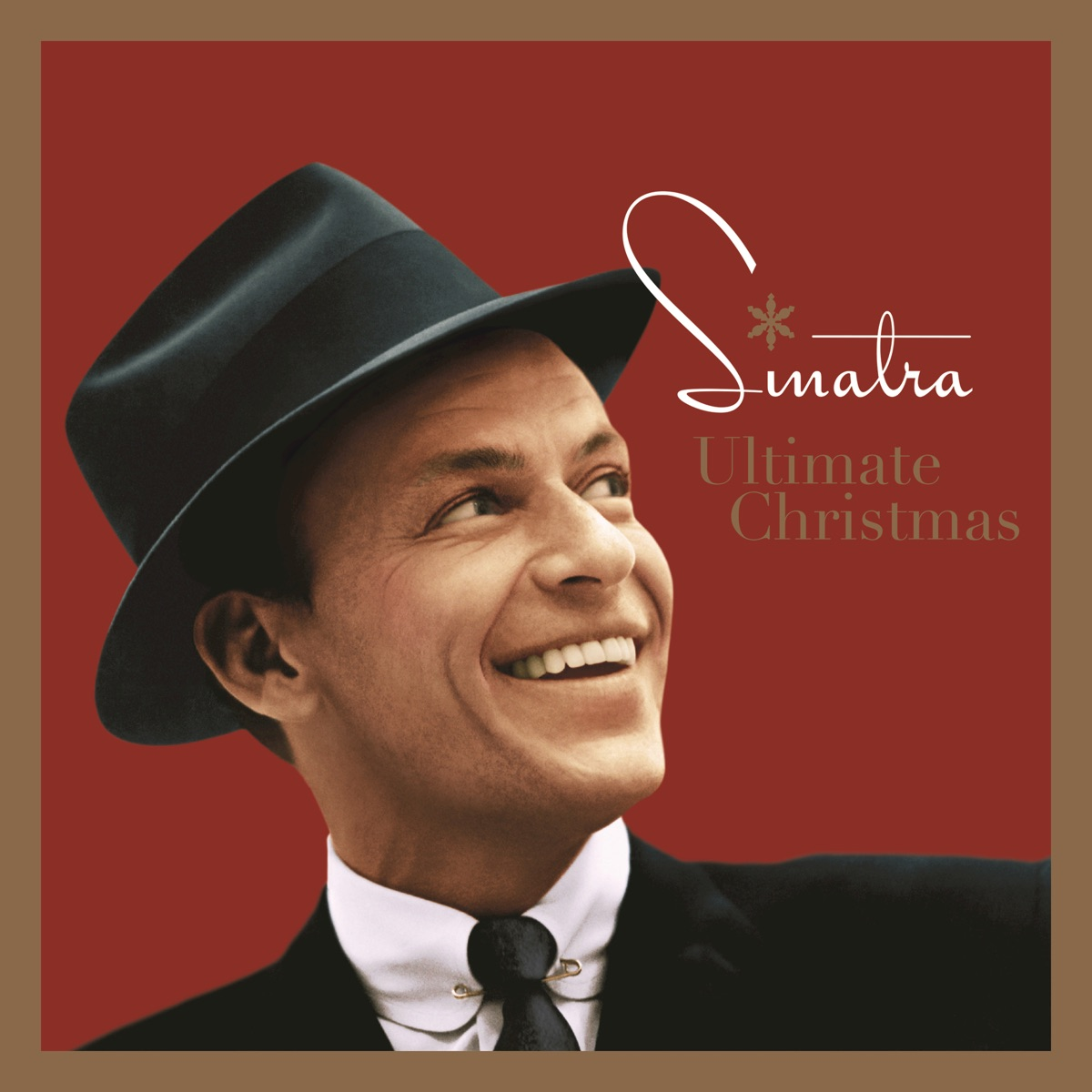 Ultimate Christmas Album Cover By Frank Sinatra