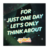 For Just One Day Let's Only Think About (Love) [From