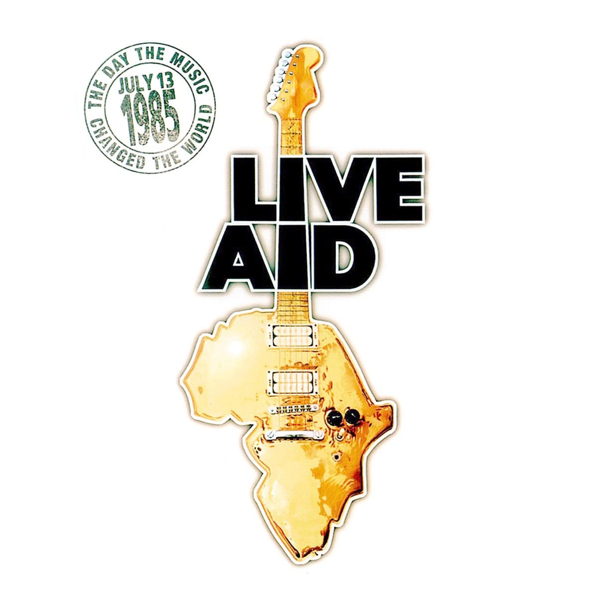 Live Aid Live 13th July 1985 Various Artists CD cover