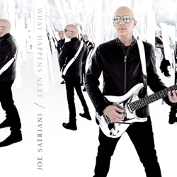 What Happens Next - Joe Satriani Album Cover