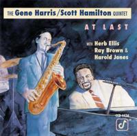 The Gene Harris/Scott Hamilton Quintet - At Last artwork