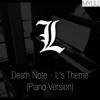Myuu - Death Note - L's Theme (Piano Version) artwork