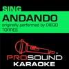 Andando (Originally Performed by Diego Torres) [Instrumental Version] - Single - ProSound Karaoke Band