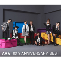 AAA - AAA 10th ANNIVERSARY BEST artwork