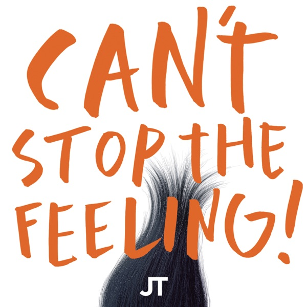 Cover art for Can't Stop The Feeling