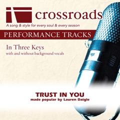 Trust In You (Made Popular by Lauren Daigle) [Performance Track]