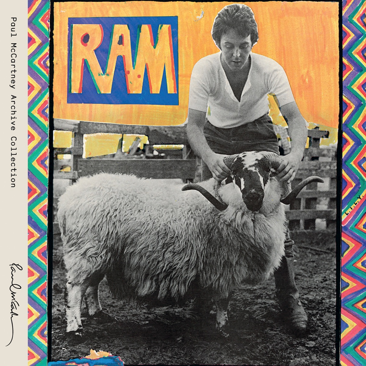 RAM Album Cover by Paul McCartney & Linda McCartney