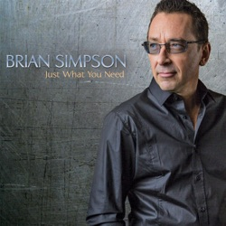View album Brian Simpson - Just What You Need