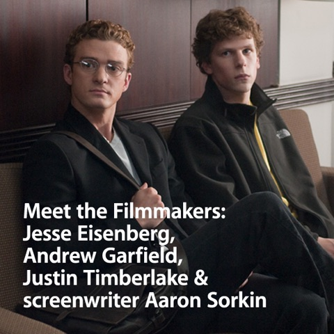 Meet the Filmmakers: Jesse Eisenberg, Andrew Garfield, Justin Timberlake and screenwriter Aaron Sorkin