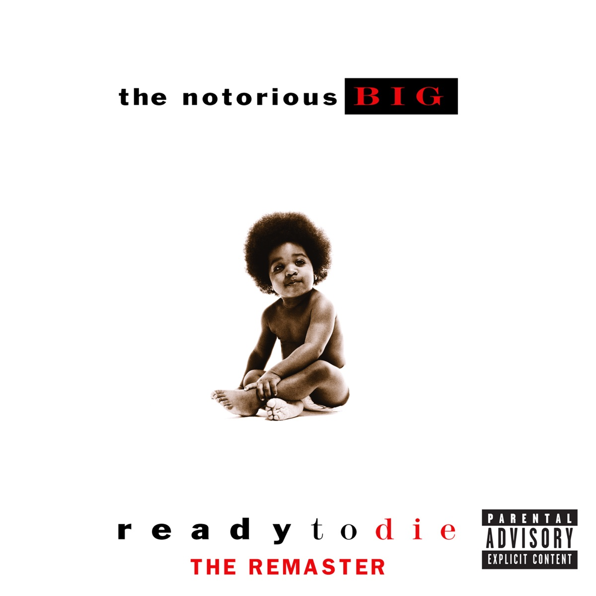 Ready to Die - The Remaster The Notorious BIG CD cover